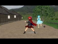 [ MMD Touhou ] Sekibanki and Kogasa