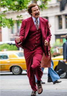ron burgundy - anchorman