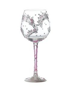 This Lolita Superbling Princess Extra Large Wine Glass is fit for royalty. Adorned with sparkles and beautiful tiaras, thisglass was designed by US artist Lolita. Hand-blown and decorated using food grade, non-toxic paint, this glass will add a fun touch to your favourite tipple!Packaged in a signature Lolita coffret gift box with a personal message from the artist, it would make a great gift idea for someone who is a true princess!Recommended hand wash only. Not suitable for the…