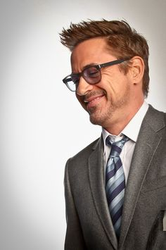 Robert Downey Jr.... This man is like a fine wine... He is getting better and better with age... yum