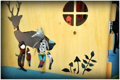 1domek i przyjaciele  fot.Karolina Bielak nasza realizacja 1domku dla przedszkola wooden house design for children plywood house for kids play house exterior interior