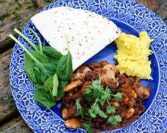 Bönchili med majskräm – Portionen Under Tian