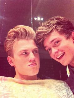 Haha Tristan Evans and Connor Ball