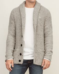 Mens shawl cardigan - 18 Incredible Cardigan Fashion For Cool Men Style Ideas Winter Pullover Outfits, Cardigan Outfits, Cardigan Style, Winter Cardigan, Mens Sweater Outfits, Black Cardigan, Mens Fashion Sweaters, Sweater Fashion, Men Sweater