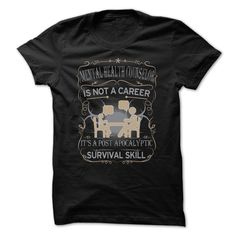 Mental Health Counselor Is Not Career T Shirt
