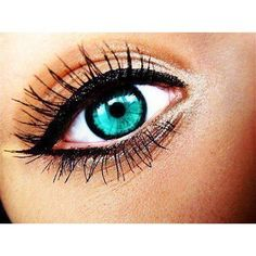 if only these eyes were real... but the very pretty makeup is