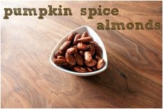... on Pinterest | Candied almonds, Healthy pumpkin and Pumpkin spice