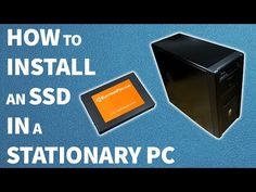 How to install an SSD in a stationary PC - YouTube