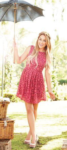 """""""Every girl needs this pretty pick!"""" - Lauren Conrad #CelebFaves #LCKohlsFav #Kohls"""
