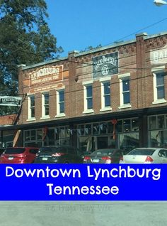 Check out our visit to Downtown Lynchburg Tennessee - Downtown Lynchburg had everything from a winery, to antique stores and of course restaurants and the general store but there are some shops you won't believe they have, find out what they are!
