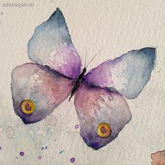 Detail / Detalhe, Butterflies / Borboletas / 15 x 21 cm.  Sale / venda: drigalindo1@gmail.com