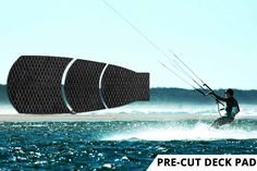 Non-slip Deck Pads, arch bars, kickers, paddle racks and rail tape for all extreme water sports. Extreme Water Sports, Paddle, Wax, Graphic Design