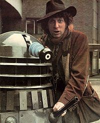 Doctor Who: Tom Baker with Dalek. It doesn't get more iconic than this.