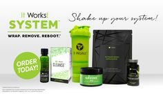Ready to get the results you want? Become an itworks distributor today! 9.99 could change your life forever, sign up today and get this amazing weight loss system for half off + 4 additional wraps for FREE ?! That's right FREE! You'll be able to enjoy the products you love at half off while making money at the same time!!!! Can't get any better then that.