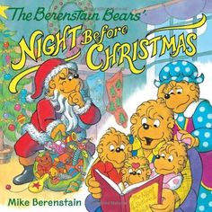 The Berenstain Bears' Night Before Christmas by Mike Berenstain, http://www.amazon.com/dp/0062075535/ref=cm_sw_r_pi_dp_azpwub010X0X2