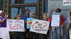 Unions sue agency for pulling City College of San Francisco accreditation