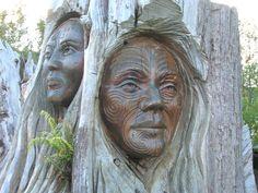 Papa and Rangi - Māori Creation Myth Abel Tasman National Park, Polynesian Art, Creation Myth, God Of War, Future Travel, Wood Carving, Mists, Mythology, Monsters