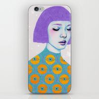 iPhone & iPod Skin featuring The Observer by Natalie Foss