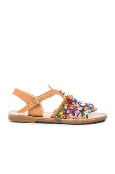 d867ac8a6468 Leather Astarte II Sandals Designer Shoes