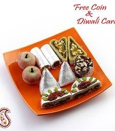 Buy Assorted Kajoo Sweets with Free Laxmi Ganesh Coin - Diwali Gifts & Offers diwali-sweet online