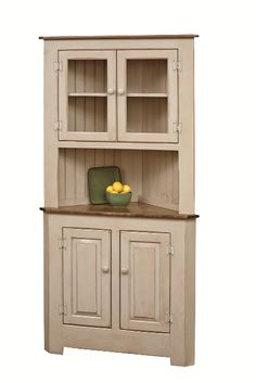 pine wood corner hutch heritage pine collection this adorable amish corner hutch is handcrafted from solid eastern white pine wood