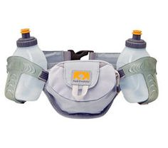 Nathan trail mix 2.  Also like this, doesn't move around as much as other waist packs I've tried
