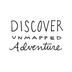 Unmapped adventure