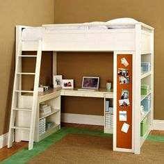 Loft Beds for Small Rooms | Bunk Beds - Kids Bunk Beds Solutions - Study Lofts - Pottery Barn ...
