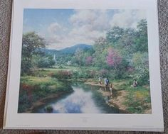 Heritage From Lord Limited Edition Print Lithograph Larry Dyke S/N Focus Family in Art, Art from Dealers & Resellers, Prints | eBay