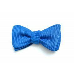 Le Consul - Bleu Indigo - Fleux' - Noeud Papillon République du Papillon