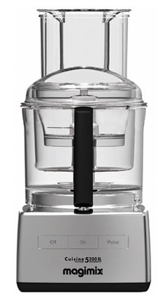 This food processer is made in France by the company who made the original Cuisinart. Cuisinart is now made by Conair and their customer service and quality has dipped, so I went looking and found Robot Coupe, who was selling their food processor in the USA. This one comes with 3 work bowls, the largest being 17 cups: perfect for quantity cooking. Also comes with a juicing attachment which works very well. I love it! The motor is very powerful!