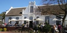 The Manor House restaurant on Meerendal Cape Dutch, Homesteads, House Restaurant, South Africa, Holland, Mansions, Architecture, House Styles, Building