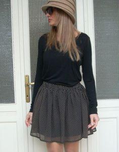 Gonna+tessuto+leggero+con+arricciatura+di+MelinaECris+su+DaWanda.com Skater Skirt, Skirts, Fashion, Moda, La Mode, Skater Skirts, Skirt, Fasion