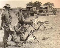 Mortar training at Chi Lang, 1972 Vietnam War Photos, North Vietnam, American War, War Machine, Cold War, Far Away, World War Ii, Cambodia, Laos