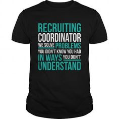 RECRUITING-COORDINATOR T-Shirts, Hoodies (22.99$ ==► Order Here!)