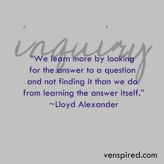 Helping gifted learners understand this quote is such a worthwhile endeavor.