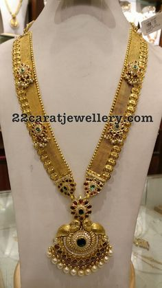Lakshmi Long Chain 135grams - Jewellery Designs