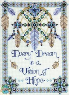 Design Works - Vision of Hope (COUNTED) - Cross Stitch World