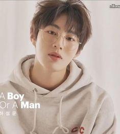 Allure updated photos of Sungwoon. A boy or a man? Kim Joon, Kim Jaehwan, My Destiny, Ha Sungwoon, Asian Celebrities, Jinyoung, Ikon, My Boys, Singing