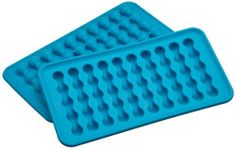 Casabella Silicone Water Bottle Ice Cube Tray, Set Of 2 by Casabella Holdings LLC. $12.00. Measures 7-3/4 by 4 by 2-inch. Also functions as a chocolate mold; dishwasher safe. Set of two easy to use and clean silicone trays. Constructed from flexible food grade silicone with no-spill reservoir for mess-free use. Casabella water bottle ice tray freezes water into a slim form that easily slips in water bottles. Casabella water bottle ice tray freezes water into a slim form tha...