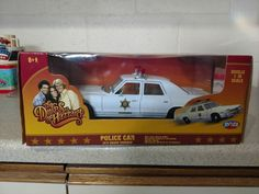 ERTL 1:18 The Dukes of Hazzard 1974 Dodge Monaco Police Car RARE! #ERTL #Dodge