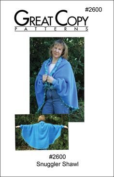 Snuggle up with a good book, keep warm while watching TV or chase away the chill while doing a little hand work. The Snuggler Shawl keeps your back and shoulders warm while the cuffs keep the sleeves Keep Warm, Stay Warm, Cuff Sleeves, Single Crochet, Shawl, Cardigans, Kimono Top, Ruffle Blouse, Sewing