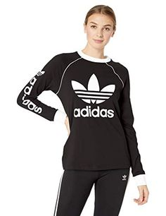 48c1aab19 Looking for adidas Originals Women's Originals Linear Logo Longsleeve Shirt  ? Check out our picks for the adidas Originals Women's Originals Linear  Logo ...