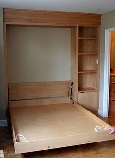 "Outstanding ""murphy bed ideas space saving"" information is offered on our internet site. Read more and you wont be sorry you did. Cama Murphy, Murphy-bett Ikea, Diy Bett, Murphy Bed Plans, Murphy Beds, Murphy Bed Office, Build A Murphy Bed, Murphy Bed Desk, Decorate Your Room"