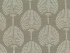 Miko from Florence Broadhurst via Signature Prints Florence Broadhurst, Fabric Design, Upholstery, Dinners, Neutral, Fabrics, Cushions, Textiles, Curtains