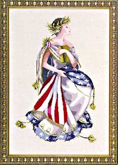 Queen of Freedom - Cross Stitch Pattern Mirabilia