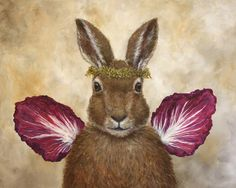 """Angel Clare"" the rabbit"