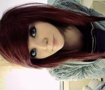 Inspiring picture cute, emo girl , green eyes, red hair. Resolution: 400x544 px. Find the picture to your taste!