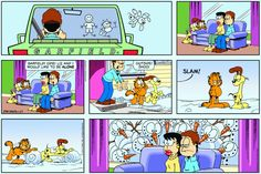 Garfield & Friends | The Garfield Daily Comic Strip for January 27th, 2013