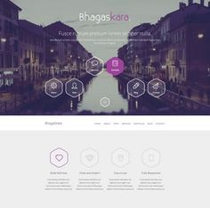 Professional Onepage  Professional Onepage PSD Template A clean and professional psd website template which you can use to build your css code with ease. All the layers grouped properly for easy conversion and is available in better resolutions. The psd file is free for any use.